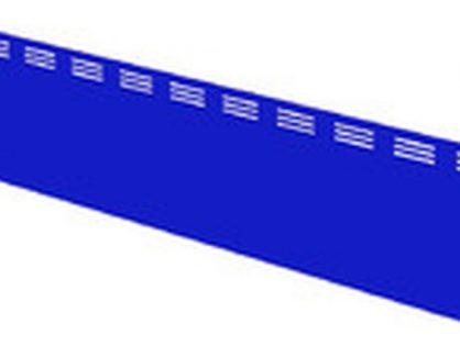 Панель для витрины Илеть/Нова/Таир Панель синяя 180