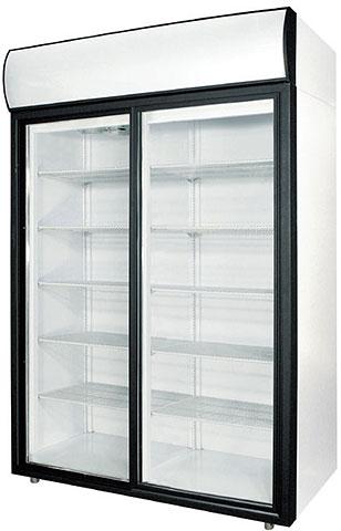 Шкаф холодильный Полаир DM110Sd-S купе стекл. дверь-купе, 1000л.