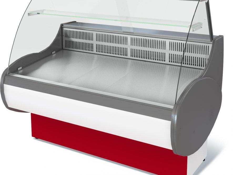 Витрина холодильная Таир  ВХС-1,8 (0...+7) стат., без фронт. пан.,