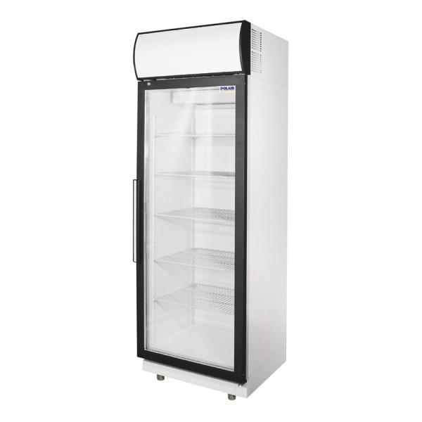 Шкаф холодильный Полаир DM105-S стекл.дверь, 500л
