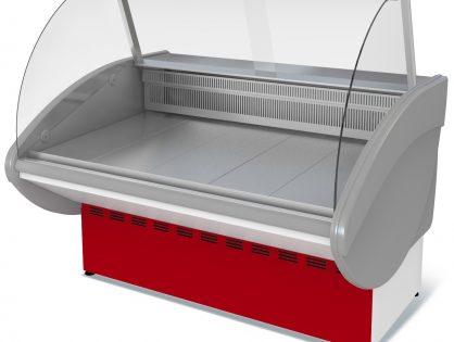 Витрина холодильная Илеть ВХС-1,5 (0...+7) стат., без фронт. пан.,