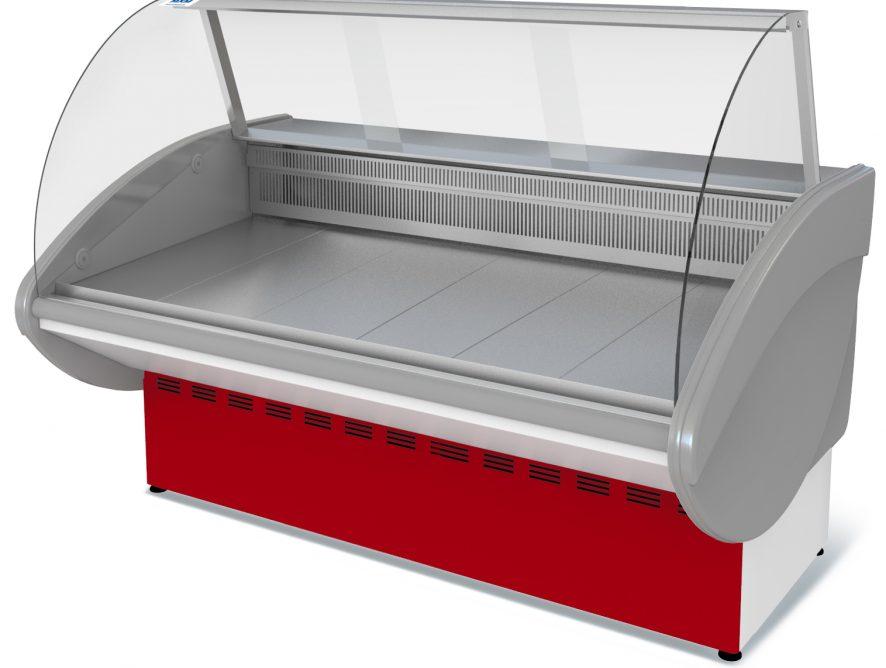 Витрина холодильная Илеть ВХС-2,1 (0...+7) стат., без фронт. пан.,