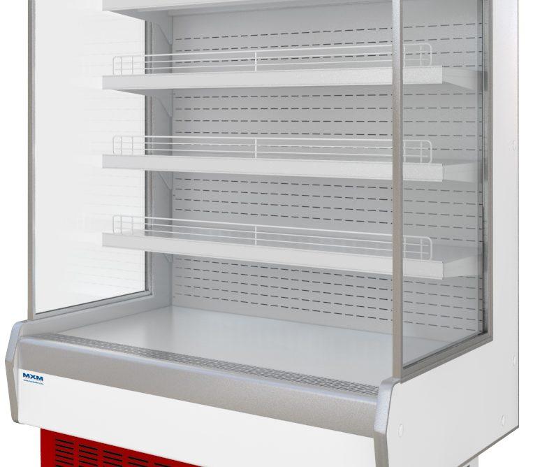 Горка холодильная Купец 1,25П (0...+7), динамика, без фронт. панелей