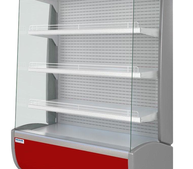 Горка холодильная Флоренция ВХСп-1,2 красная