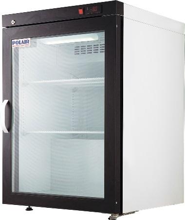 Шкаф холодильный Полаир DP102-S (-8...0) стекл.дверь, 150л (поставляется без ручки двери)