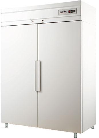 Шкаф морозильный Полаир CB114-S метал.дверь 1400л 106022d