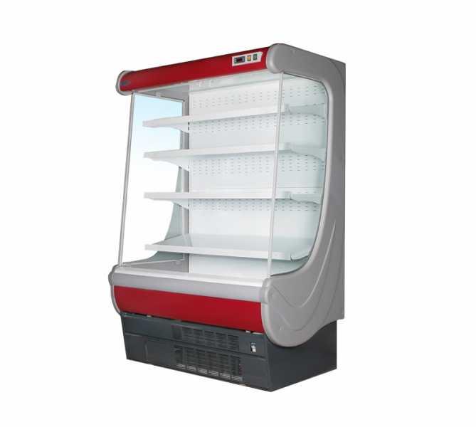 Горка холодильная гастрономическая ВИЛИЯ 100 ВС Красн. 0…+7