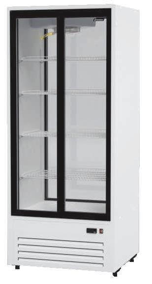 Шкаф холодильный Премьер ШВУП1ТУ- 0,75 К2 (B, +5…+10) стекл. дв. динам. охл.
