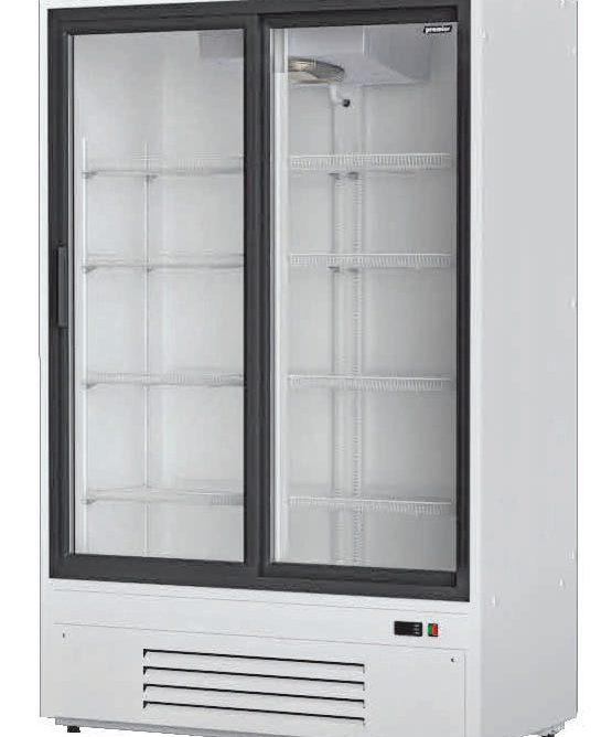 Шкаф холодильный Премьер ШВУП1ТУ-0.8 К (В/Prm, +1... +10) стекл. двери-купе, динам. охл.