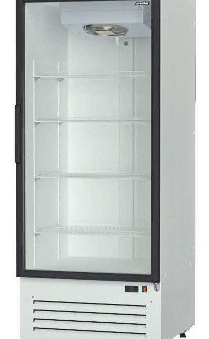 Шкаф холодильный Премьер ШВУП1ТУ-0,5 С  (В/Prm, +1…+10) стекл. распашн. дв. динам. охл.