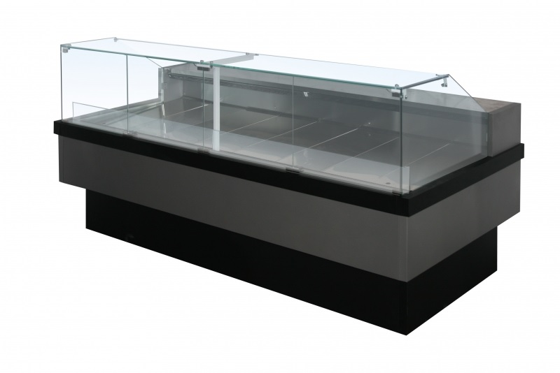 Витрина холодильная НЕМИГА CUBE 150 ВСн (встройка, без шторок, без боковин)