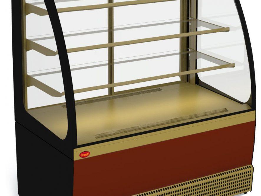 Холодильная витрина Марихолодмаш Veneto VS-1,3 (краш.) new
