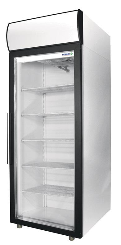 Фармацевтический холодильный шкаф Polair ШХФ-0,5 ДС