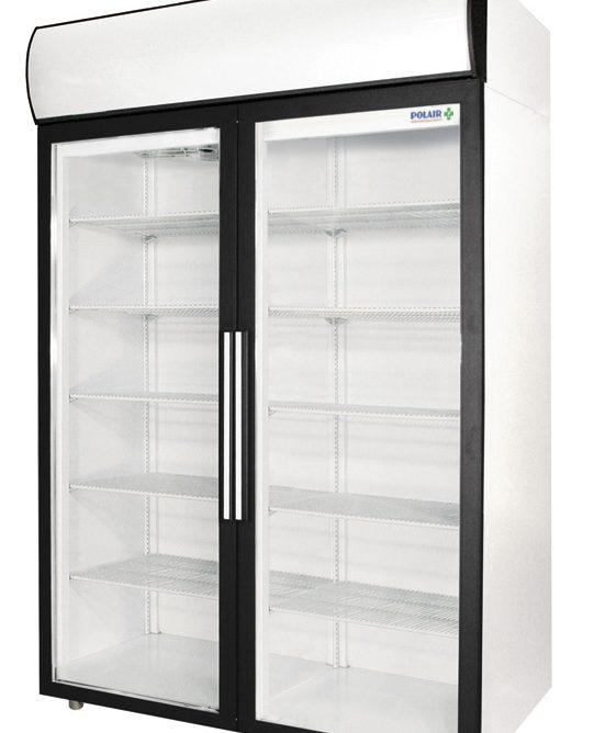 Фармацевтический холодильный шкаф Polair ШХФ-1,4 ДС