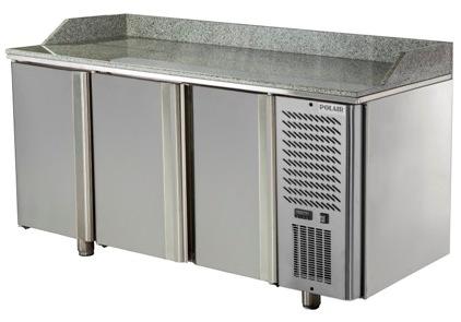 Стол охлаждаемый для пиццы Polair TM3GNpizza-G