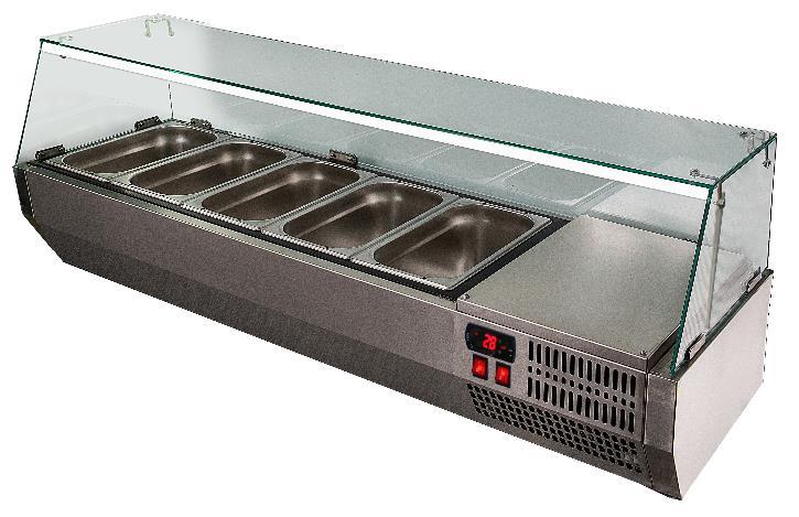 Холодильная витрина Polair VT2v-G