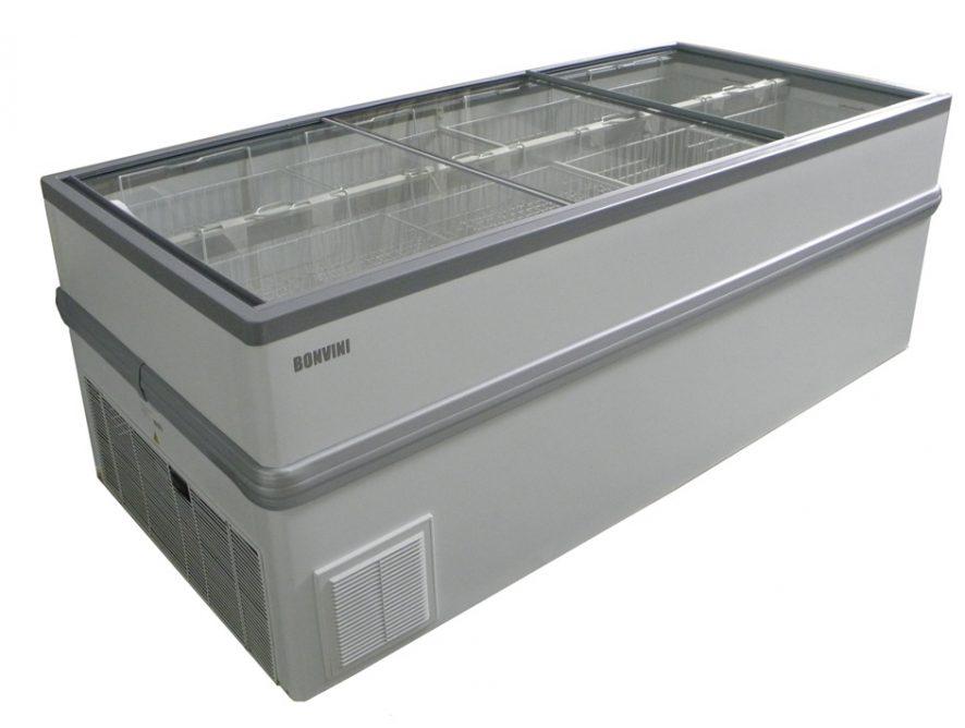 Морозильный ларь-бонета Снеж Bonvini 2100 L (серый)