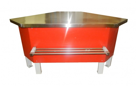 Прилавок холодильный среднетемпературный ПХС-УН (мясной. встроенное холодоснабжение)