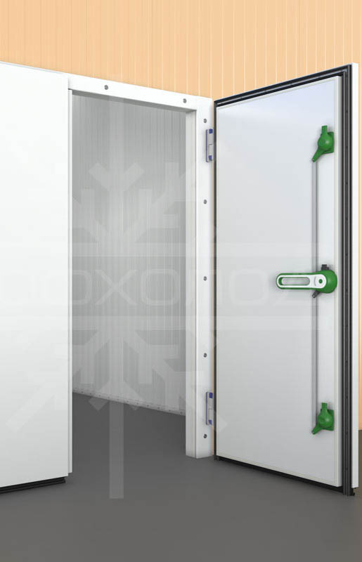 Двухстворчатая распашная дверь