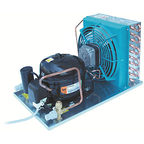 RIVACOLD HA021Z1001: built-in Конденсаторный агрегат открытого типа среднетемпературный (-5…+5°c).