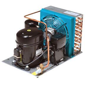 RIVACOLD HA021Z1012: built-in Конденсаторный агрегат открытого типа среднетемпературный (-5…+5°c).