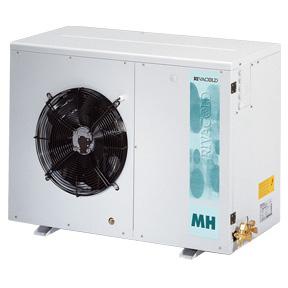RIVACOLD HUM140Z0212: built-in Конденсаторный агрегатй с кожухом среднетемпературный (-5…+5°c).