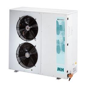 RIVACOLD HUM245Z0312: built-in Конденсаторный агрегатй с кожухом среднетемпературный (-5…+5°c).