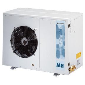 RIVACOLD HBM140Z0312: built-in Конденсаторный агрегатй с кожухом среднетемпературный (-5…+5°c).