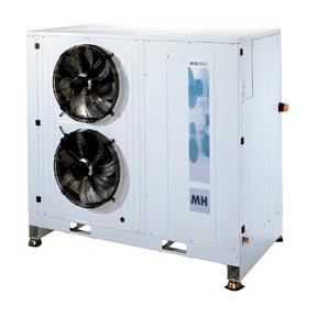 RIVACOLD HDM245Z1212: built-in Конденсаторный агрегатй с кожухом среднетемпературный (-5…+5°c).