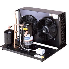 RIVACOLD P-HCB05Z2012: built-in Конденсаторный агрегат открытого типа среднетемпературный (-5…+5°c).