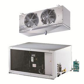 RIVACOLD STM022Z012: сплит горизонтальный среднетемпературный (-5…+5°c).