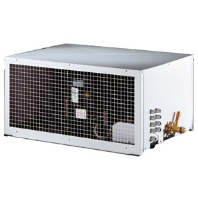 RIVACOLD SUH003Z011: built-in Конденсаторный агрегатй с кожухом высокотемпературный (+5…+10°c).