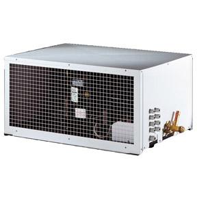 RIVACOLD SUH009Z011: built-in Конденсаторный агрегатй с кожухом высокотемпературный (+5…+10°c).
